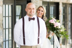 Bridge-standing-behind-groom