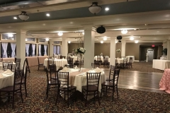 Wedding-tables-with-white-and-tan-color-scheme